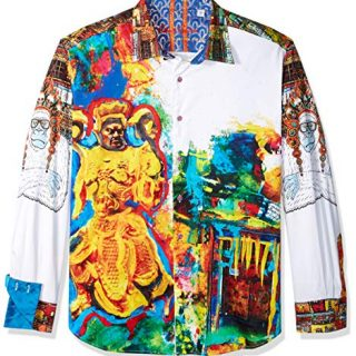Robert Graham Men's YAKI Warrior Limited Edition Shirt
