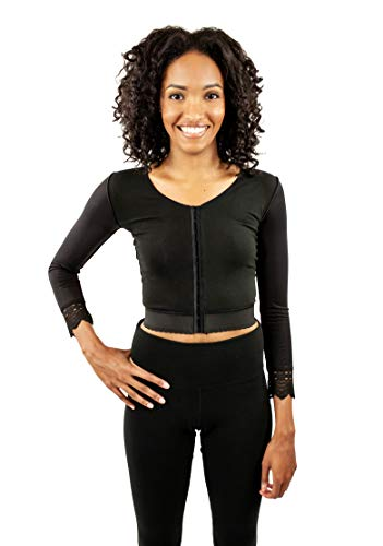 Post Surgery Upper Body Quarter Sleeve Compression Vest