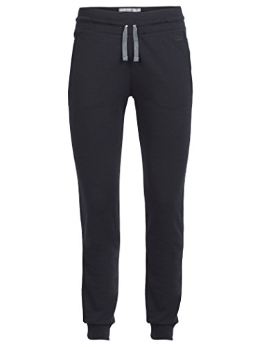 Icebreaker Merino Women's Crush Pants, Black/Charcoal