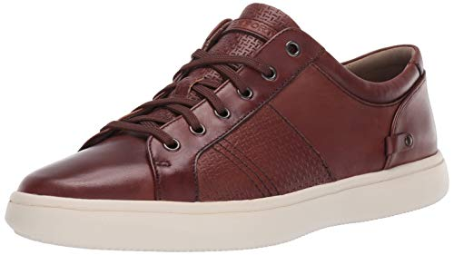 Rockport Men's Colle Tie Sneaker, TAN Smooth
