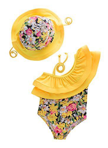 May's KidsGirl Onepiece 2 Pieces Swimwear Swimming