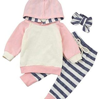 Newborn Baby Girls Clothes Long Sleeve Summer Breathable Hoodie Tops