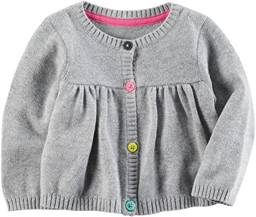 Carter's Baby Girls' Button up Sweater 9 Months