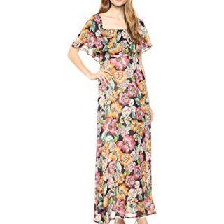 Rachel Pally Women's Chiffon Eden Dress, Bouquet, L