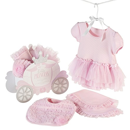 Baby Aspen Little Princess 3 Piece Gift Set, Baby Onesie Outfit