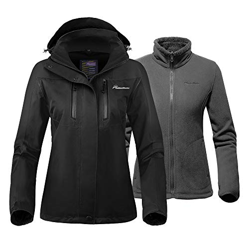 OutdoorMaster Women's 3-in-1 Ski Jacket - Winter Jacket