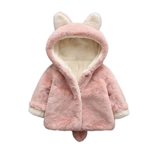 FEITONG Baby Infant Girls Boys Autumn Winter Hooded Coat