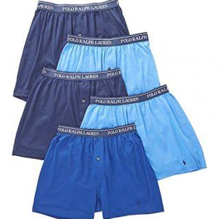 Polo Ralph Lauren Classic Fit 100% Cotton Knit Boxers
