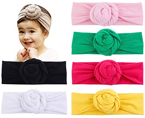 Baby Top Hat Cotton Head Wrap Elastic Headbands Turban