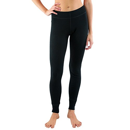 Woolx Womens Nora Heavyweight Merino Wool Base Layer Leggings