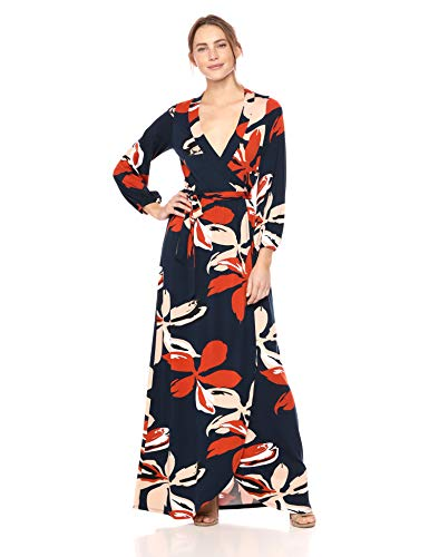 Rachel Pally Women's Greenwich WRAP Dress, pop Floral, S
