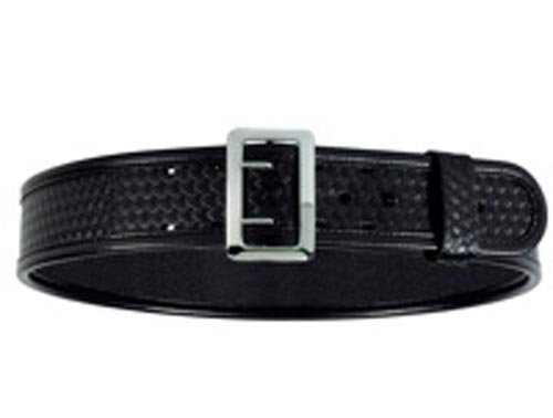 Bianchi BSK Black Sam Browne Belt with Chrome Buckle