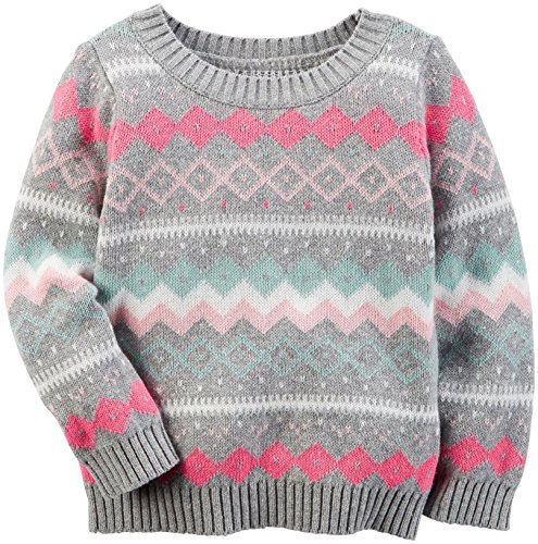 Carter's Baby Girls' Sweater, Print 3M