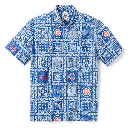 Reyn Spooner Men's Chicago Cubs MLB Classic Fit Hawaiian Shirt