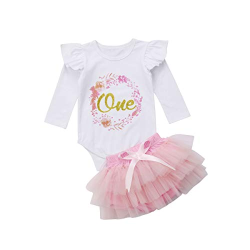 Baby Girl Clothing Set 1st Birthday Outfits Cotton Long Sleeve Top