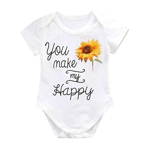 rodeke-summer-newborn-boys-and-girls-baby-short-sleeved-sunflower-letter-printing-robes-romper-parent-child-white
