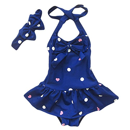 Jastore Baby Girls Swimwear One Piece Swimsuits Beach Wear