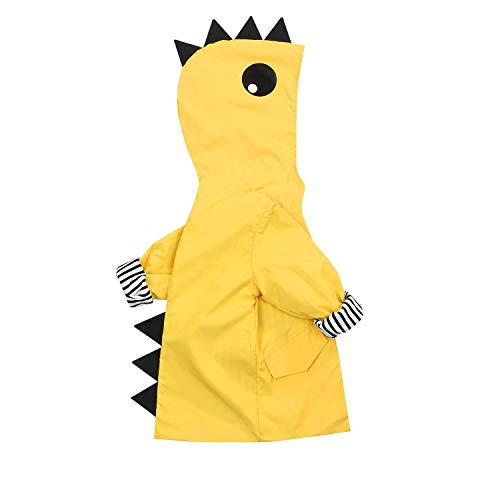 Kids Boy Girl Animal Raincoat Cute Jacket Hooded Outwear Baby