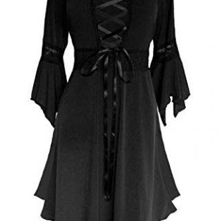 Dare to Wear Renaissance Corset Dress: Victorian Gothic Boho