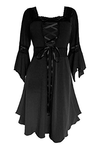 Dare to Wear Renaissance Corset Dress: Victorian Gothic Boho