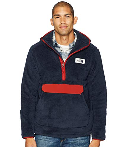 North FACE MNS XXL CAMPSHIRE Pullover Hoodie Urban Navy/RED