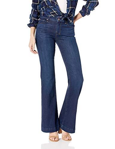 7 For All Mankind Women's Flare Wide Leg Jean