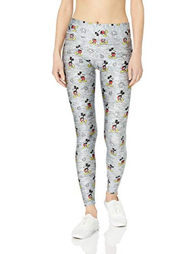 Terez Women's Heathered Mickey Mouse Tall Band Leggings