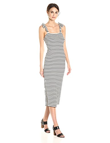 Rachel Pally Women's Roselyn Dress, Black/White Stripe S