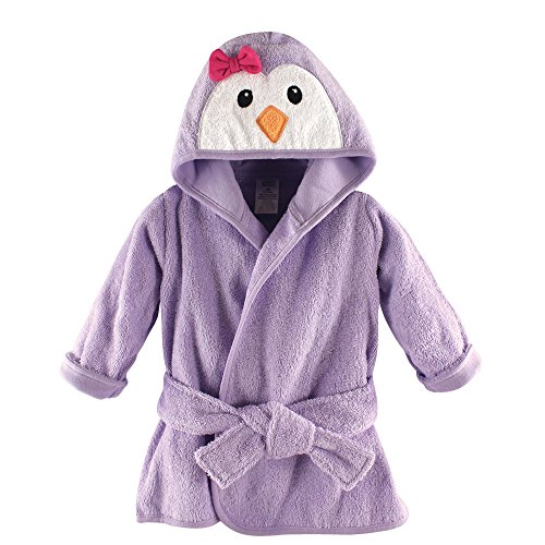 Luvable Friends Animal Face Hooded Bath Robe