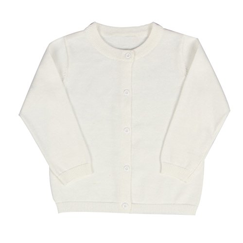 Baby Boys Girls Button-Down Cardigan Toddler Cotton Knit Sweater