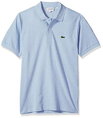 Lacoste Mens Classic Chine Pique Polo Shirt, Lutea
