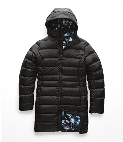The North Face Women's Gotham Parka II - TNF Black & Multi Glitch
