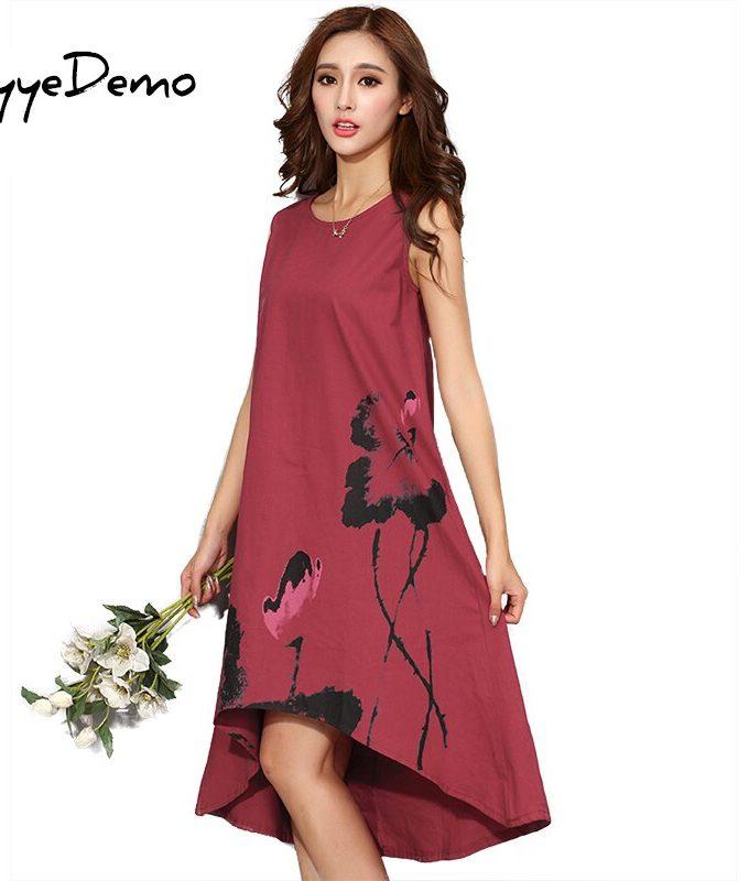 M - 6XL Summer Dress New Vestido Casual Dresses Women