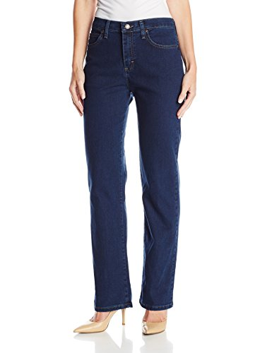 LEE Women's Relaxed Fit Straight Leg Jean, Premium Dark