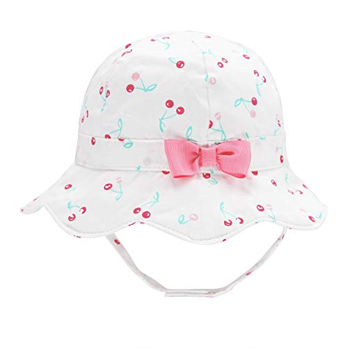 Baby Girl Floppy Sun Hat Bowknot Infant Toddler Summer Swim
