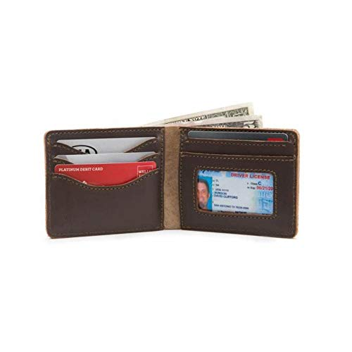 Saddleback Leather Co. Medium Full Grain Leather Bifold