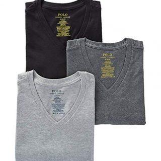 Polo Ralph Lauren Slim Fit 100% Cotton V Neck T-Shirts