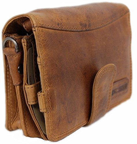 Travel Wallet For Men Women Organizer Genuine Leather Purse