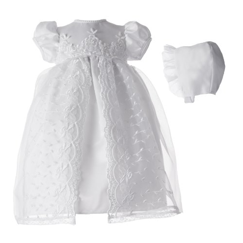 Lauren Madison Baby girl Christening Baptism Newborn