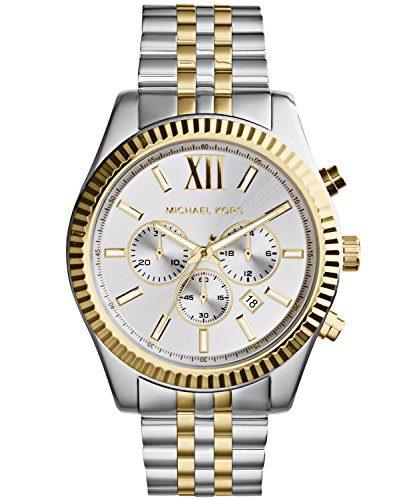 Michael Kors Men's Lexington Two-Tone Watch