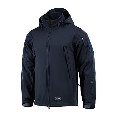 M-Tac Tactical Jacket Men Soft Shell Hooded Waterproof Fleece