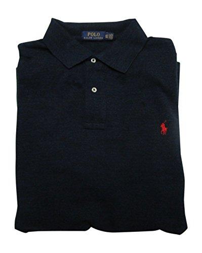 Polo Ralph Lauren Mens Big & Tall Big Tall Weathered Mesh Polo Shirt