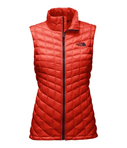 The North Face Women's Thermoball Vest Fire Brick Red