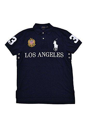 Polo Ralph Lauren Men's Short Sleeve Shirt with Big Pony