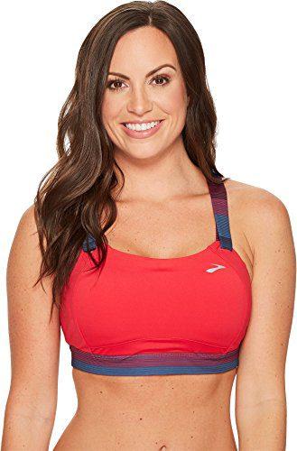 Brooks Women's Juno Cross Back Adjustable High-Impact Sports Bra