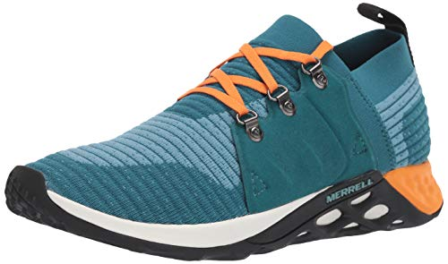Merrell Men's Range AC+ Sneaker, Teal/Orange