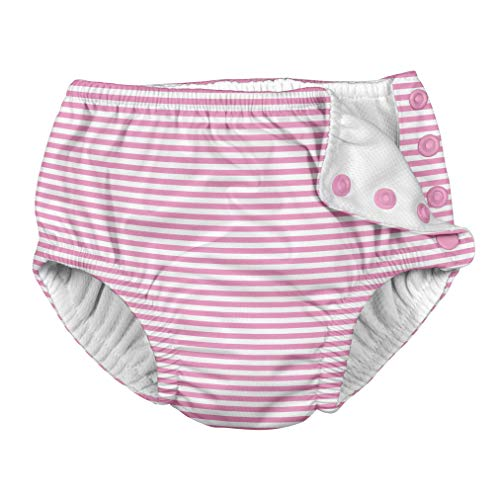 i play. Baby Girls Snap Reusable Absorbent Swimsuit Diaper