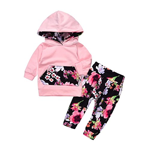 Memela Buy The Outfit 2PC Baby Girls Long Sleeve Clothing Set