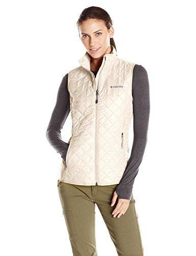 Columbia Women's Dualistic Vest, Chalk, Large