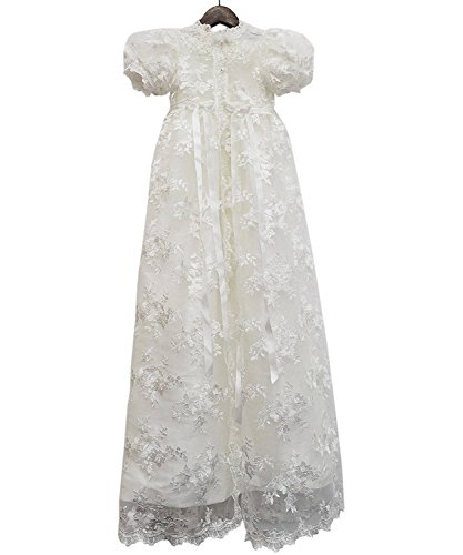 ABaowedding Lace Christening Gowns Baby Baptism Dress
